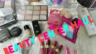Beauty Center Makeup Haul | Affordable Products