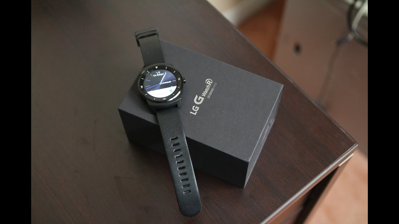 LG G Watch R Unboxing and First Impression