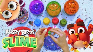 Angry Birds SLIME | Colorful & Relaxing Ep2