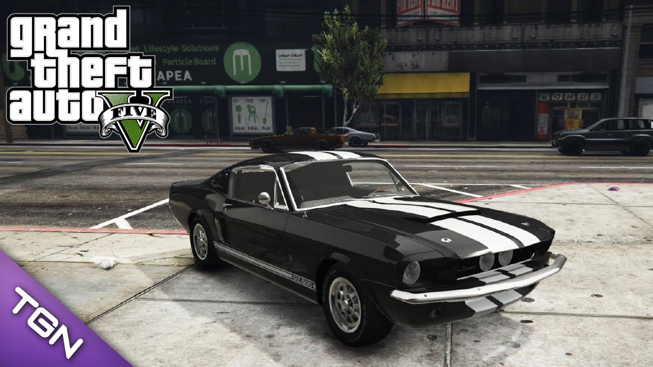 Gta v 1967 ford mustang gt500 by louping0 download youtube