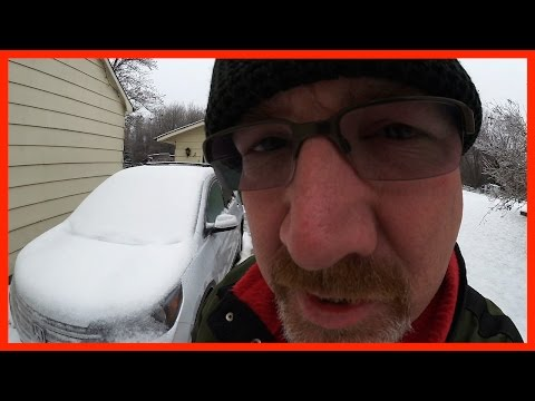 Ken's Vlog #251 – Ice Storm Clean up, Deep Fried Pickles, Instagram Avatar Shout Out