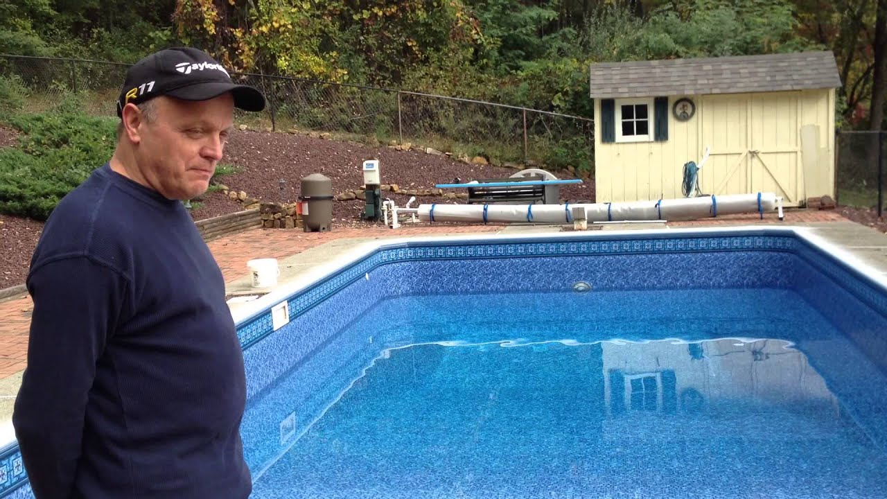 Inground Pool Liner Replacement Nj Youtube