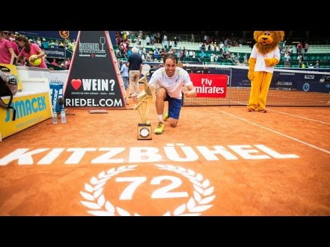 Paolo Lorenzi vs. Nikoloz Basilashvili | Final Kitzbuhel 2016 [Highlights]