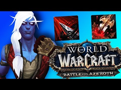 BFA Subtlety AoE Buffs + Slows (Rogue Updates) - World of Warcraft: Battle For Azeroth (BETA)