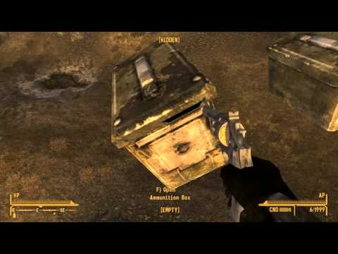 Fallout New Vegas Easter Egg! (Ammo boxes)