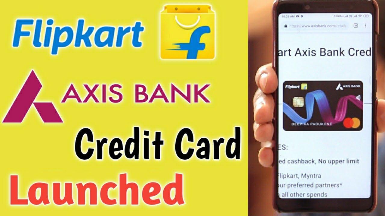 flipkart axis bank credit card details