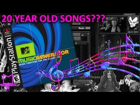 Songs Made From MTV Music Generator for the PS1 20 Years Ago