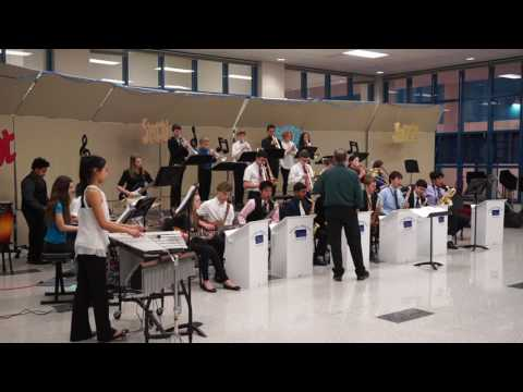 Trailside Middle School Jazz Band - Part 1 - 2/16/17