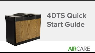 4DTS Quick Start Guide - Essick Air Products