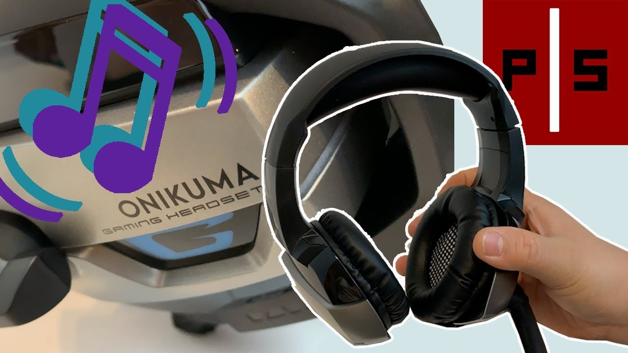 Onikuma Pro Stereo Gaming Headset K5   Unboxing   Pixel Slayers 4K