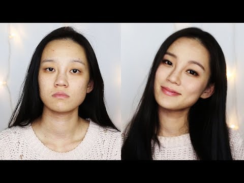 Asian Monolid Hooded Eye lid Natural makeup tutorial | The Power of Makeup