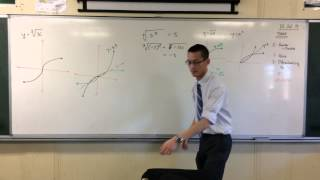 Differentiability (1 of 3: Cube root of x)