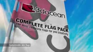 3DOcean   A Complete Flag Pack