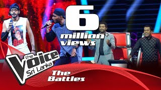 The Battles : Jithendra V Lakshitha | Siri Sangabodhi |  Ahankara Nagare | The Voice Sri Lanka Thumbnail