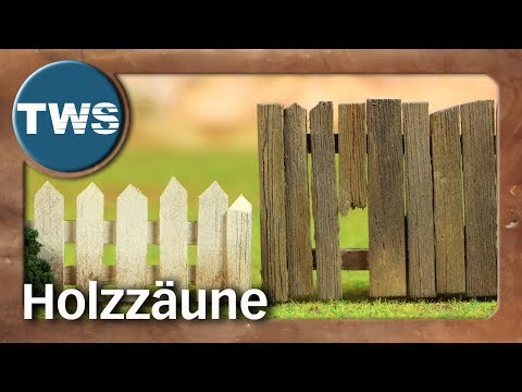 Tutorial: Holzzäune / wooden fences / Zaun / fence (Tabletop-Gelände, TWS)