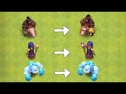 """NEW HOG,WITCH & GOLEM LEVELS!! """"Clash Of Clans"""" NEW UPDATE!!"""