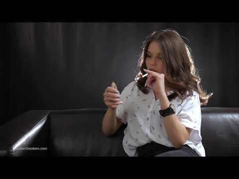 Russian women smoking