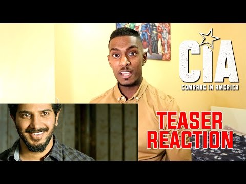 CIA - Comrade In America Teaser Reaction & Review | Dulquer