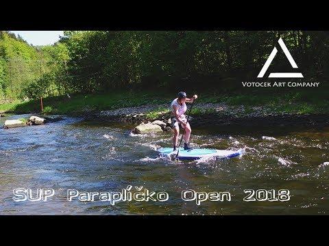 SUP Paraplíčko Open Race 2018 4K