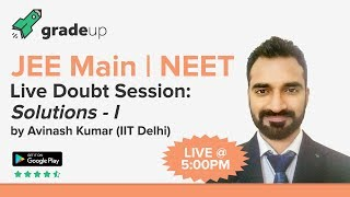 Solutions 1 | Concentration of Solutions: Live Doubt Session