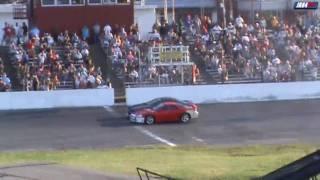 mitsubishi 3000gt vr4 spectator drags seekonk speedway thrill show 8 1 2010