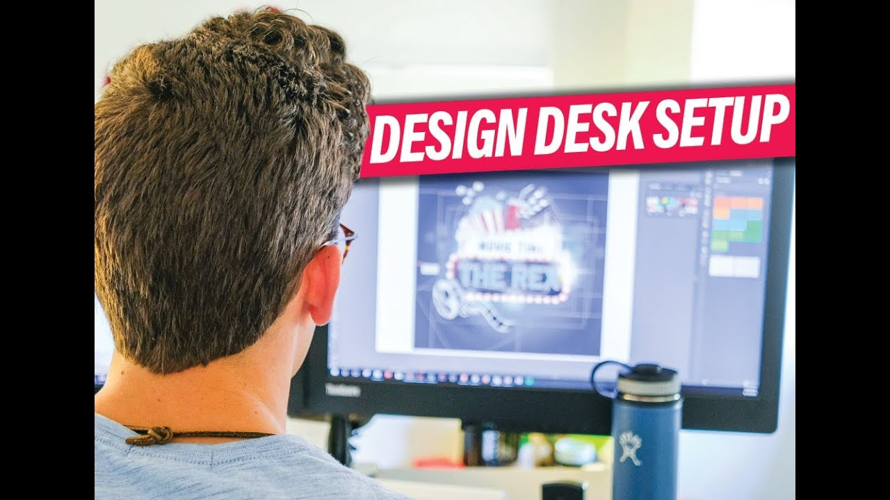 Tour My Graphic Design Desk Setup With Specs And Gear Recommendations