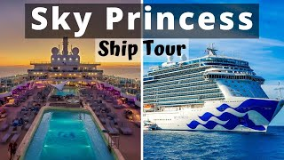 Sky Princess Cruise Ship Tour/Review  - Royal Class Ship with Princess Cruises