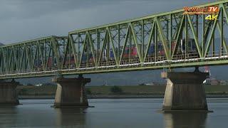 [4K60P] N2000系特急うずしお4号 吉野川橋梁を疾走