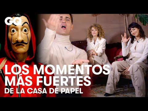 Úrsula Corberó y el cast de La casa de papel explican los momentos más fuertes | GQ España
