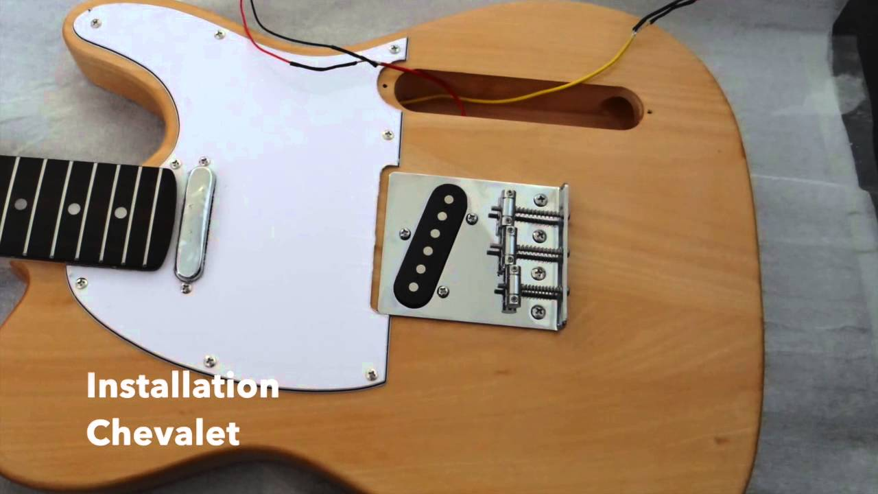 maxresdefault montage kit guitare t�l�caster youtube,Wiring A Telmaster Guitar Kit Youtube