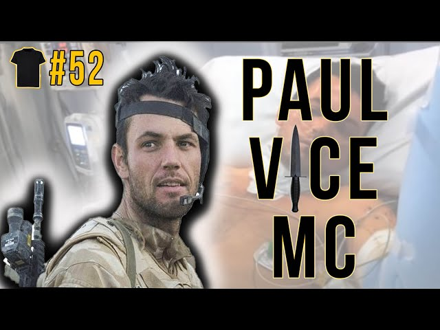 The Commando Who Refused To Die | Paul Vice MC | Royal Marines | Afghanistan | Invictus Gold Medal