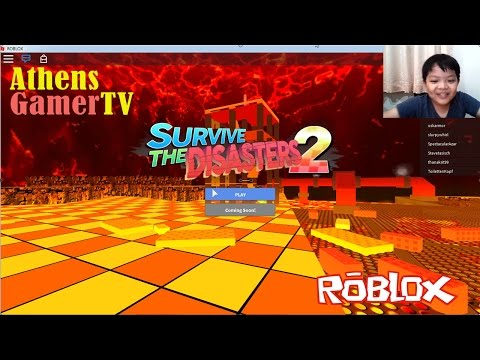 Roblox Survive The Disasters 2 AthensGamerTV by Athens Thanakrit