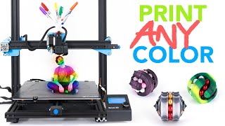 3D Printing Custom Colors with Markers?!