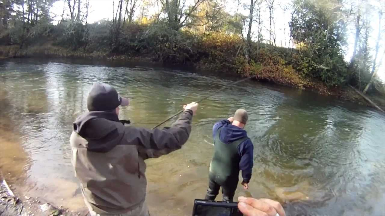 Salmon fishing washington state silvers coho youtube for Oregon out of state fishing license