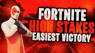 Fortnite Battle Royale High Stakes/Wildcard Skin Gameplay