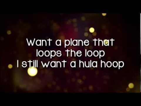 Glee - The Chipmunk Song (Christmas Don't Be Late) (Lyrics)