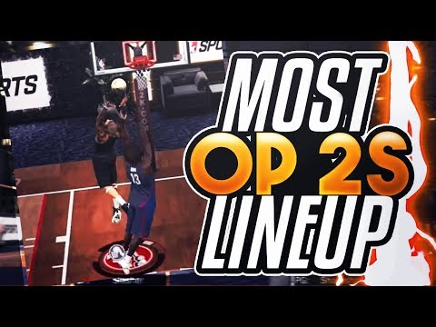 HIGHROLLERS KING RETURNS WITH NEW OP 2s LINEUP - NBA 2K17
