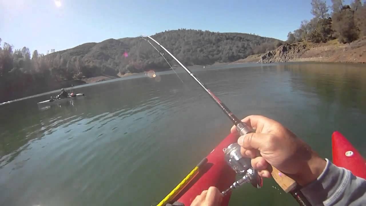 How 39 s the fishing lake berryessa california youtube for Berryessa fishing report