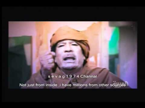 Gaddafi MIX (AL-ARABIA NEWS)