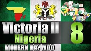 """Victoria 2 Nigeria """"Dat GOLD!"""" EP:8 [Modern Day Mod]"""