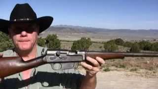 Shooting The Remington Self Loading Model 8 Rifle .35 Remington