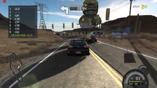 ASUS T100 Gaming - Need for Speed: ProStreet (medium settings)