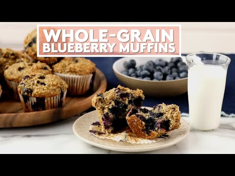 How to Make Whole-Grain Blueberry Muffins | Extra Sharp | Real Simple