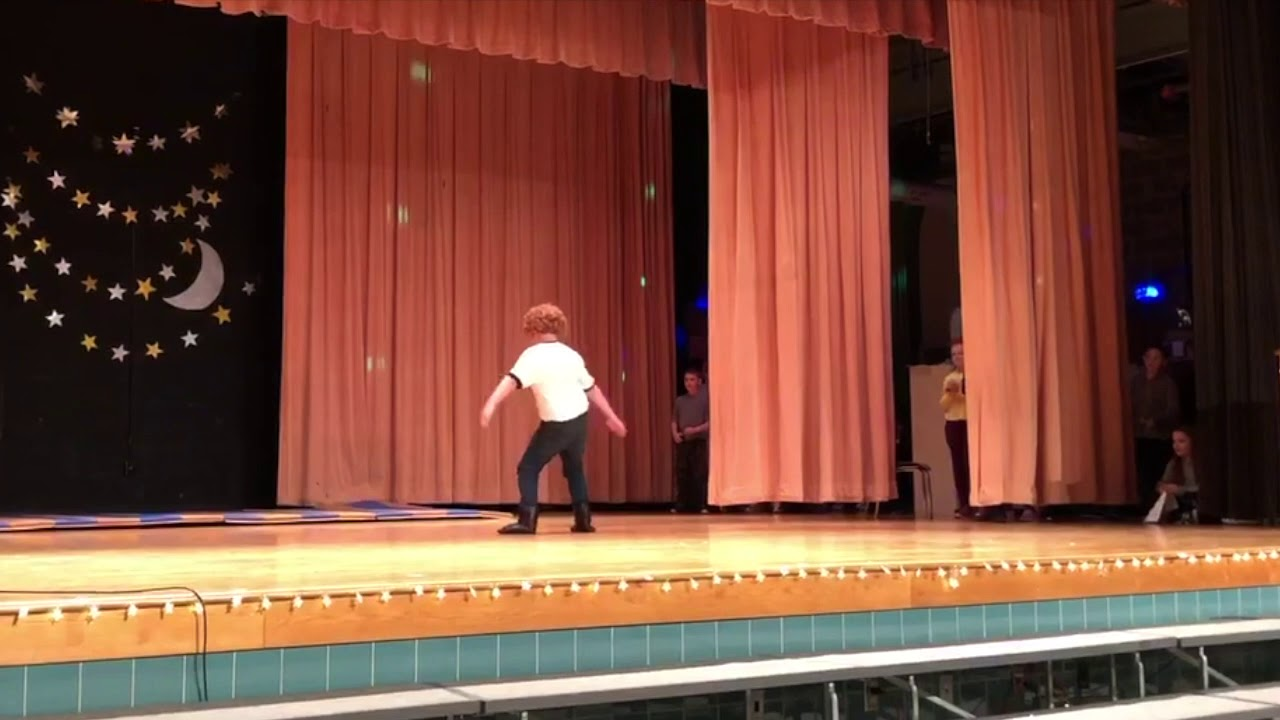 Kid Re-Enacts Napoleon Dynamite Dance Scene at Talent Show