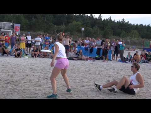 Sandslash 2016 - Freestyle Finals - Bianca Strunz + Sasha Höhne