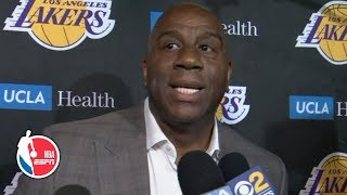 [FULL] Magic Johnson resigns as president of basketball operations for the Lakers | NBA on ESPN