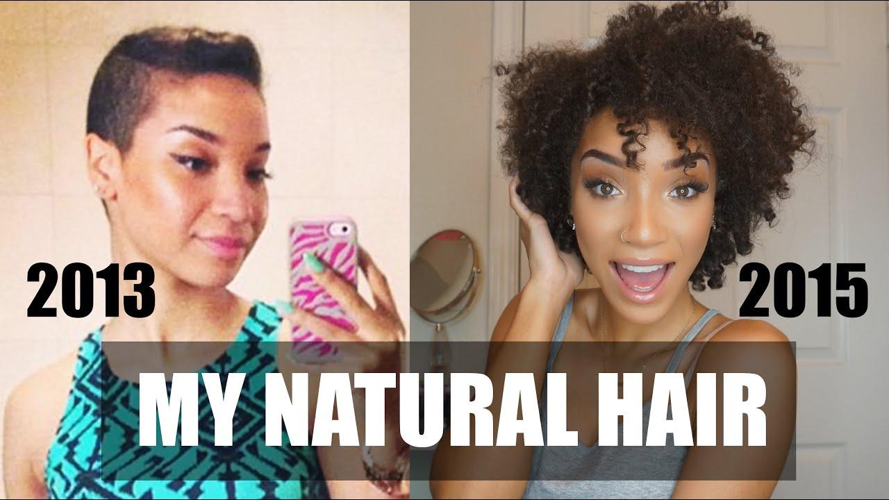 HAIR My Natural Hair Journey Length Check