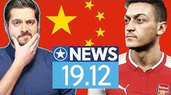 Wegen China-Kritik: Mesut Özil aus Pro Evo gelöscht - News