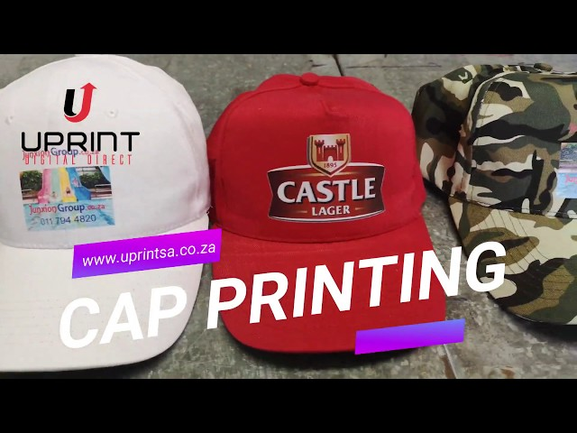 Cap Printing with Uprint
