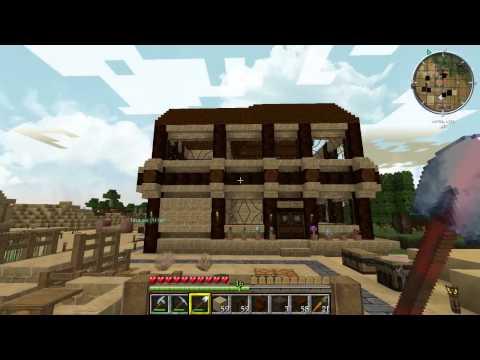 Let´s Play Minecraft Süd Esmeraldien (Deutsch)(HD)#031-Der Blumenladen ist fertig(Gameplay German)
